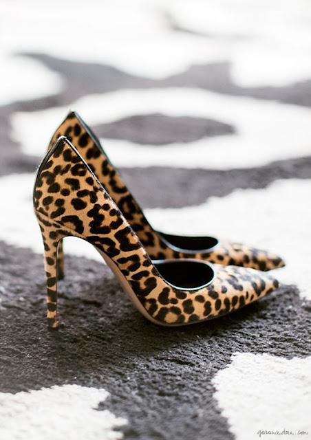 leopard heels Gianvito Rossi