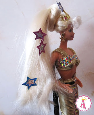 Блондинка барби русалочка Jewel Hair 1995