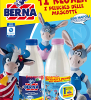 Logo Berna ti regala i peluche delle Mascotte