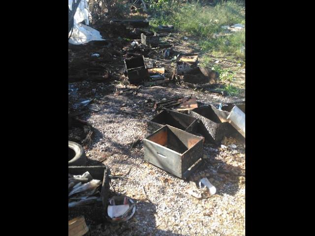 Κάηκαν μελίσσια στο Αγρίνιο