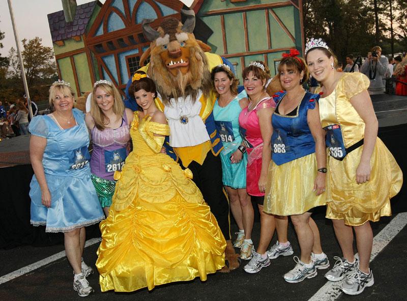 A corrida meia maratona das princesas na disney dicas da - Princesse de walt disney ...