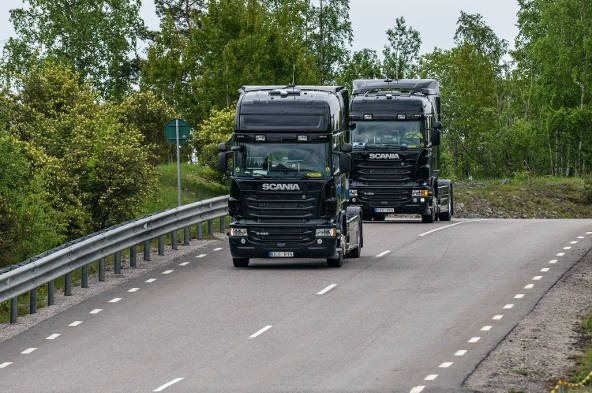 Scania and Toyota Tsusho are developing an autonomous truck platooning system for use on Singapore's public roads which will eventually take over freight transport.