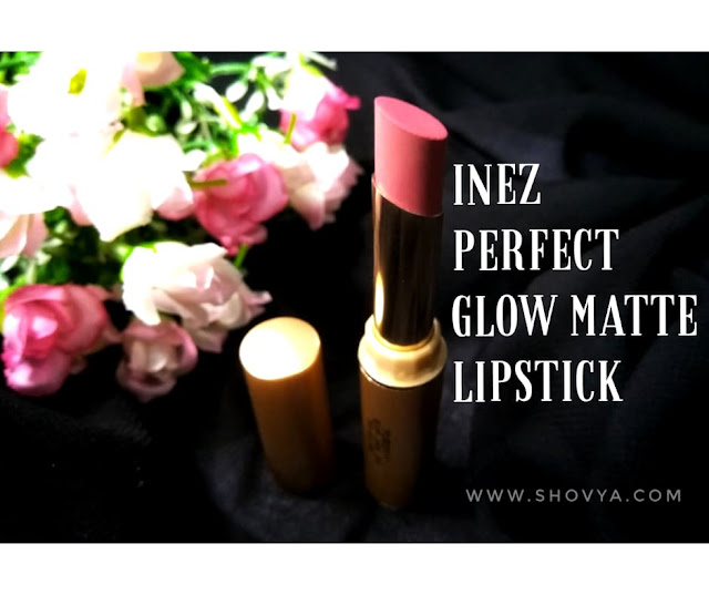 Wajib Coba! Inez Perfect Glow Matte Lipstick - 09 Coral Tree Review