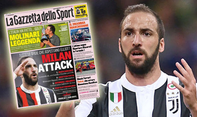 """Juventus đuổi Higuain vì Ronaldo: Ở lại Serie A xây """"đế chế"""" phục thù 3"""