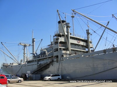 Red Oak Victory Liberty Ship in Richmond, CA