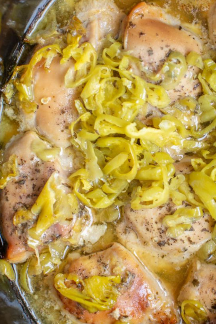 Slow Cooker Mississippi Chicken Recipe