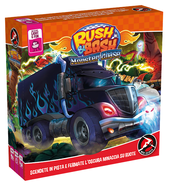 Rush and Bash: Monster Chase, la scatola in uscita a Play 2017