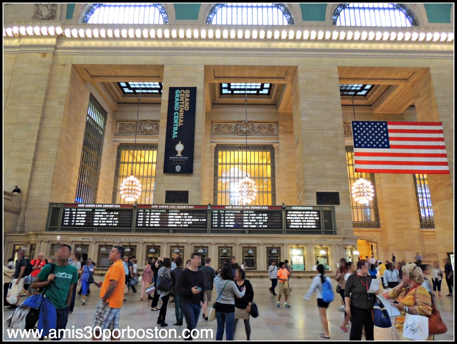 Interior de la Grand Central Terminal de Nueva York