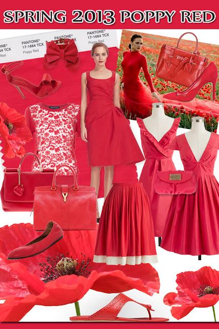 Spring 2013 Poppy red