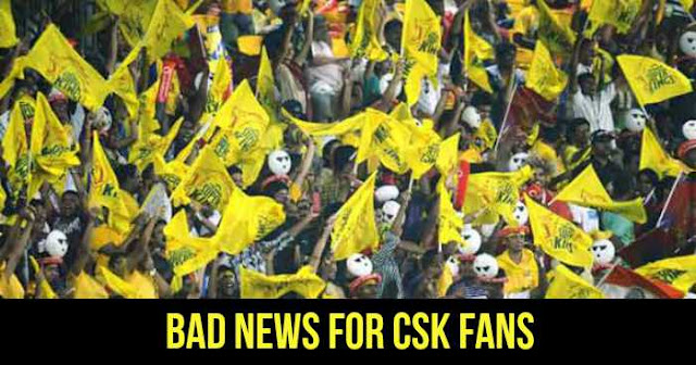 IPL 2018: CSK will not play home matches in Chennai