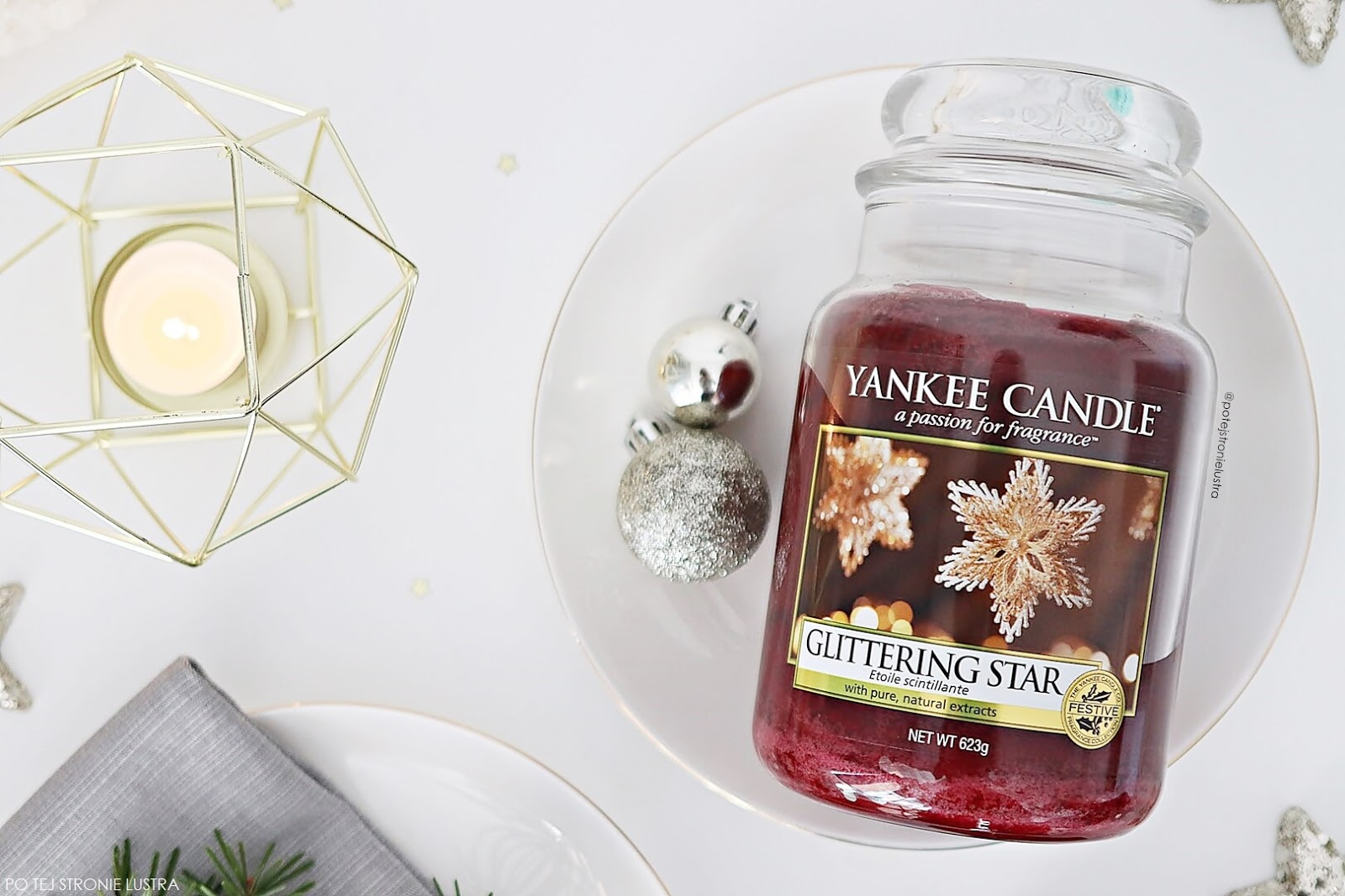 yankee candle glittering star nowość 2018