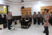 Kapolres Kerinci Pimpin Sertijab Kasat Lantas Polres Kerinci dari AKP Supariyanto ke Iptu Angga Luvyanto