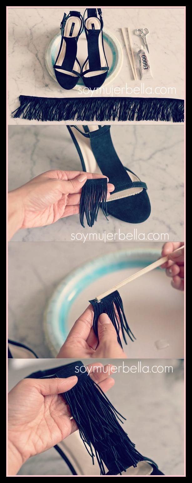 cómo personalizar una sandalia