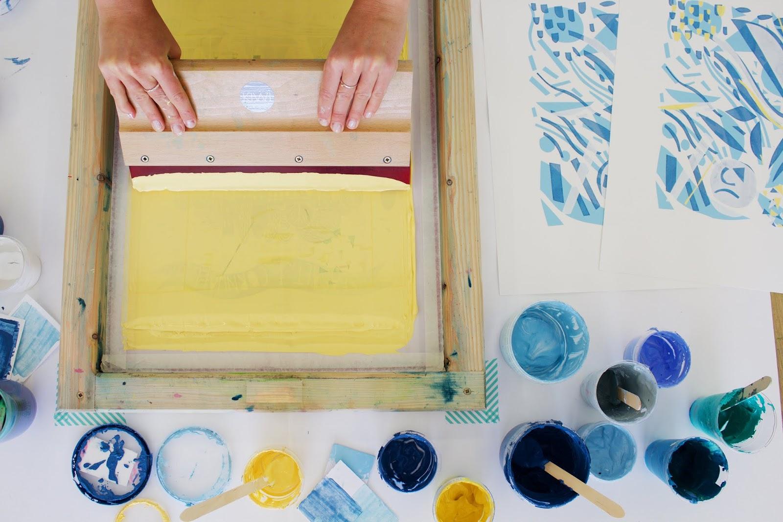 Kiwi Print Studio: Full day Screen Printing Workshops 2018
