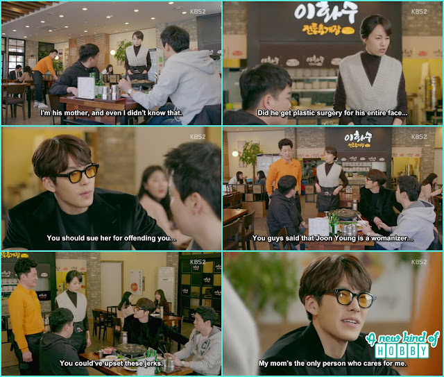 Joon Young at his mother resturant - Uncontrollably Fond - Episode 15 Review