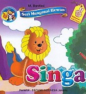 Seri Mengenal Hewan – Singa – Bilingual & Full Color