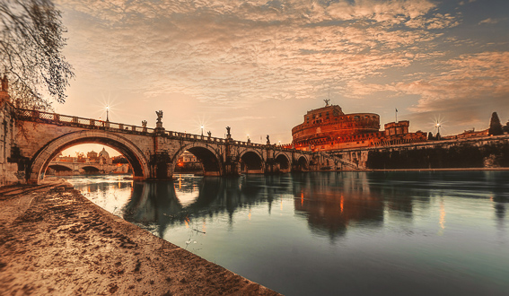 Castillo de Sant'Angelo. 20 cosas que saber de Roma.