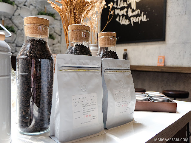 Varian kopi di Sekai Koffee