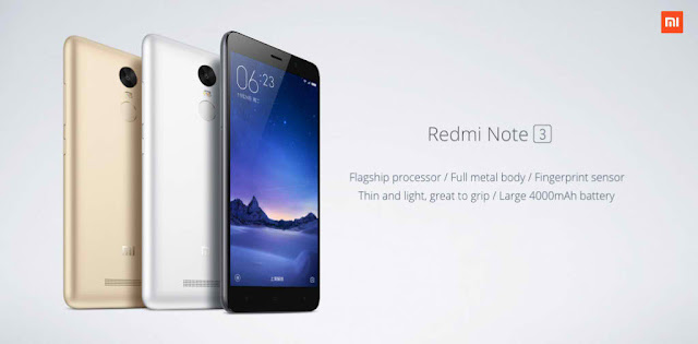 Where to buy Xiaomi Redmi Note 3