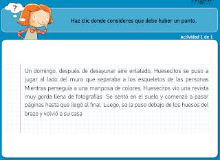 http://www.primerodecarlos.com/TERCERO_PRIMARIA/archivos/actividades_tilde_tercero/3/el_punto_la_mayuscula.swf