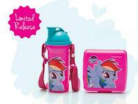 1 Set Wadah Bekal Makan Anak Lunch Set Little Pony Lucu
