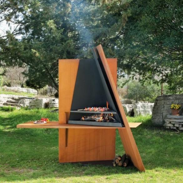 Garden Barbecue Ideas - Native Home Garden Design