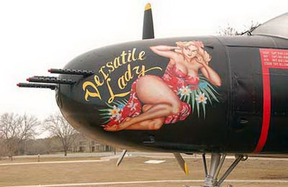 World War II nose art worldwartwo.filminspector.com