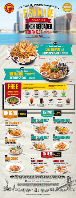 The Manhattan FISH MARKET Lunch Deal Promo
