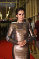 Actress Catherine Tresa in Golden Skin Tight Backless Gown at Gautam Nanda music launchi ~ Exclusive Celebrities Galleries 088.JPG