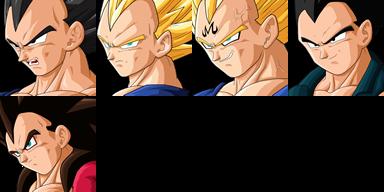 Graficos faciais Dragon Ball 1FVegeta