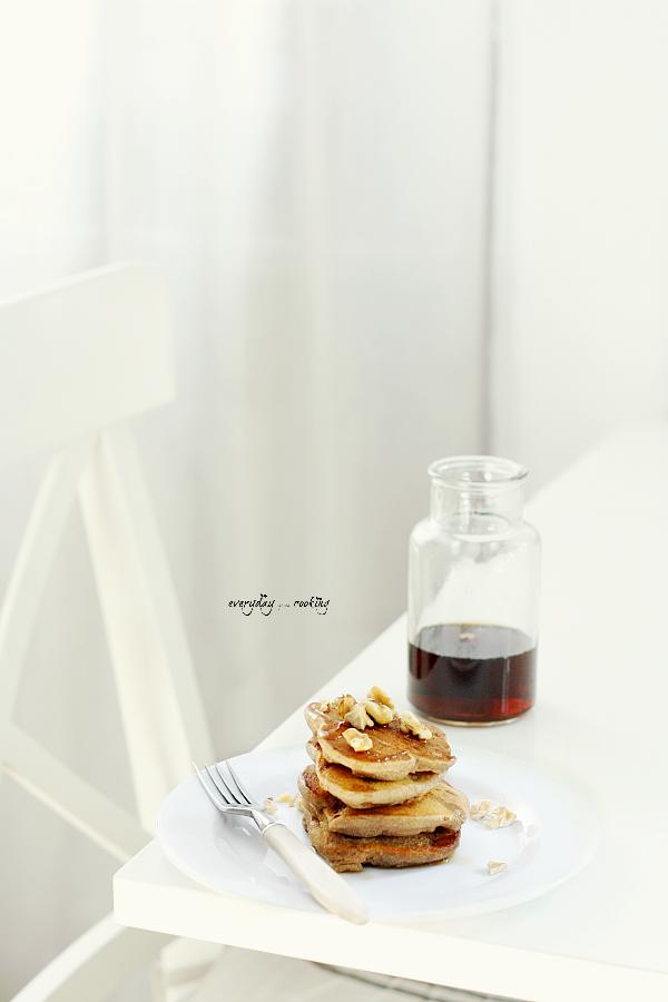 Najprostsze pancakes z bananami (bez jajek i glutenu)