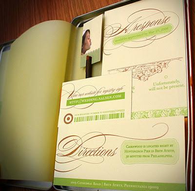 folder para bodas