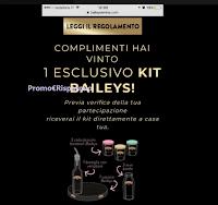 Logo Con Baileys si vince davvero ! prova anche tu: ci sono 1200 kit in palio!