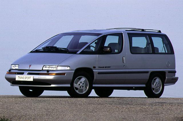 1993 Pontiac Trans Sport Luxury Exterior Trims Guide