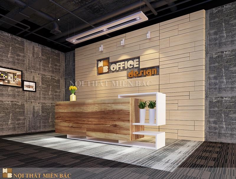 Thiết kế nội thất văn phòng công ty với đặc trưng riêng