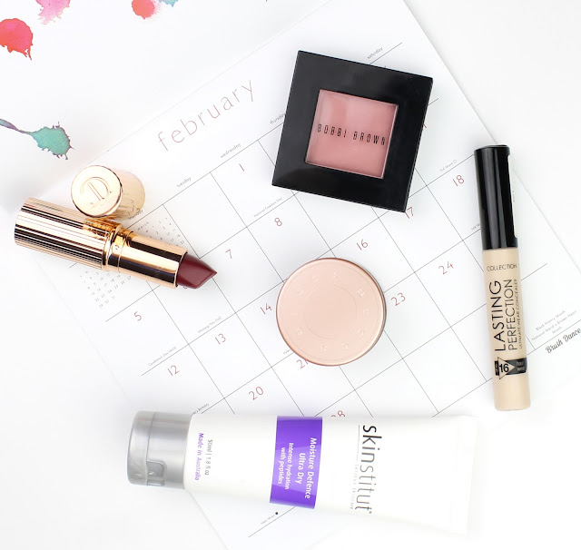 february favourites beauty makeup Bobbi Brown Blush Nectar Collection Lasting Perfection Concealer Light Skinstitut Moisture Defence Ultra Dy Charlotte Tilbury Matte Revolution Lipstick Love Liberty review swatch swatches