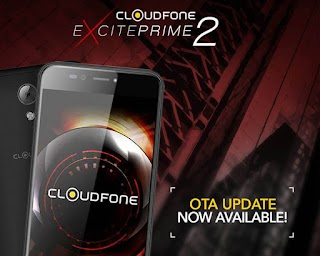 Download Cloudfone Excite Prime 2 OTA Update now Available