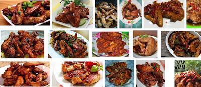 Resep Cara Membuat Sayap Ayam Bumbu Kecap