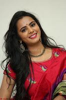 Manasa in Pink Salwar At Fashion Designer Son of Ladies Tailor Press Meet Pics ~  Exclusive 25.JPG