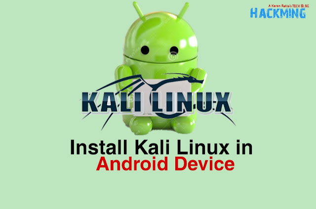 Linux Deploy & VNC Viewer - Install Kali Linux on Android Phone