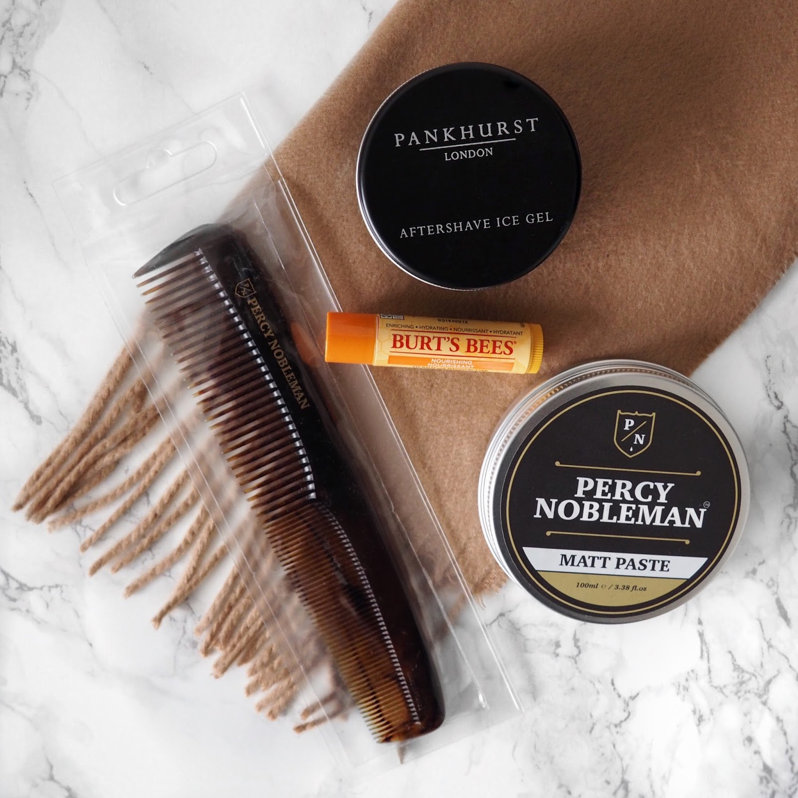 Salman Dean's Grooming Giveaway With Percy Nobleman, Pankhurst & Burt's Bees
