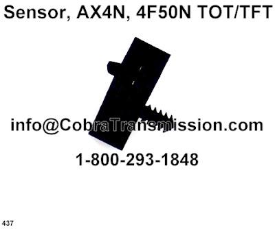 Cobra Transmission Parts 1-800-293-1848: AX4N, 4F50N