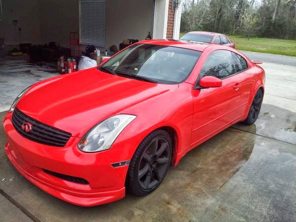 2005 infiniti g35 custom auto restorationice. Black Bedroom Furniture Sets. Home Design Ideas