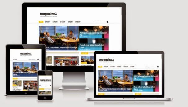 Simplex Magazine 2 - Responsive Blogger Template