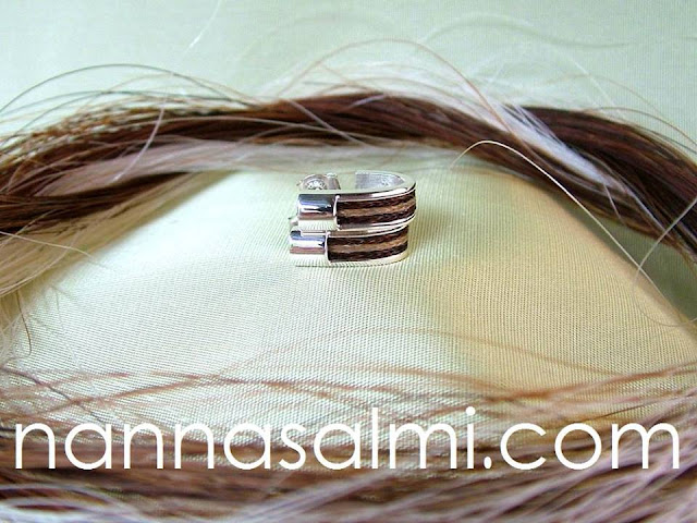 equestrian earrings by nannasalmi