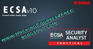 Download Ec council Certified Security Analyst - ECSA V10 for free.