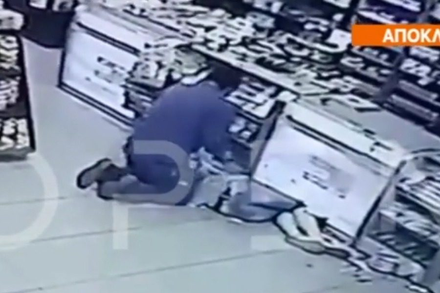 Χαϊδάρι: Γυναίκα έπεσε αναίσθητη μπροστά σε ένοπλους -video