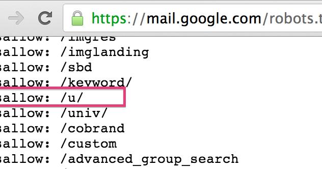 79.400 URLs de Gmail indexadas en Google no son un leak