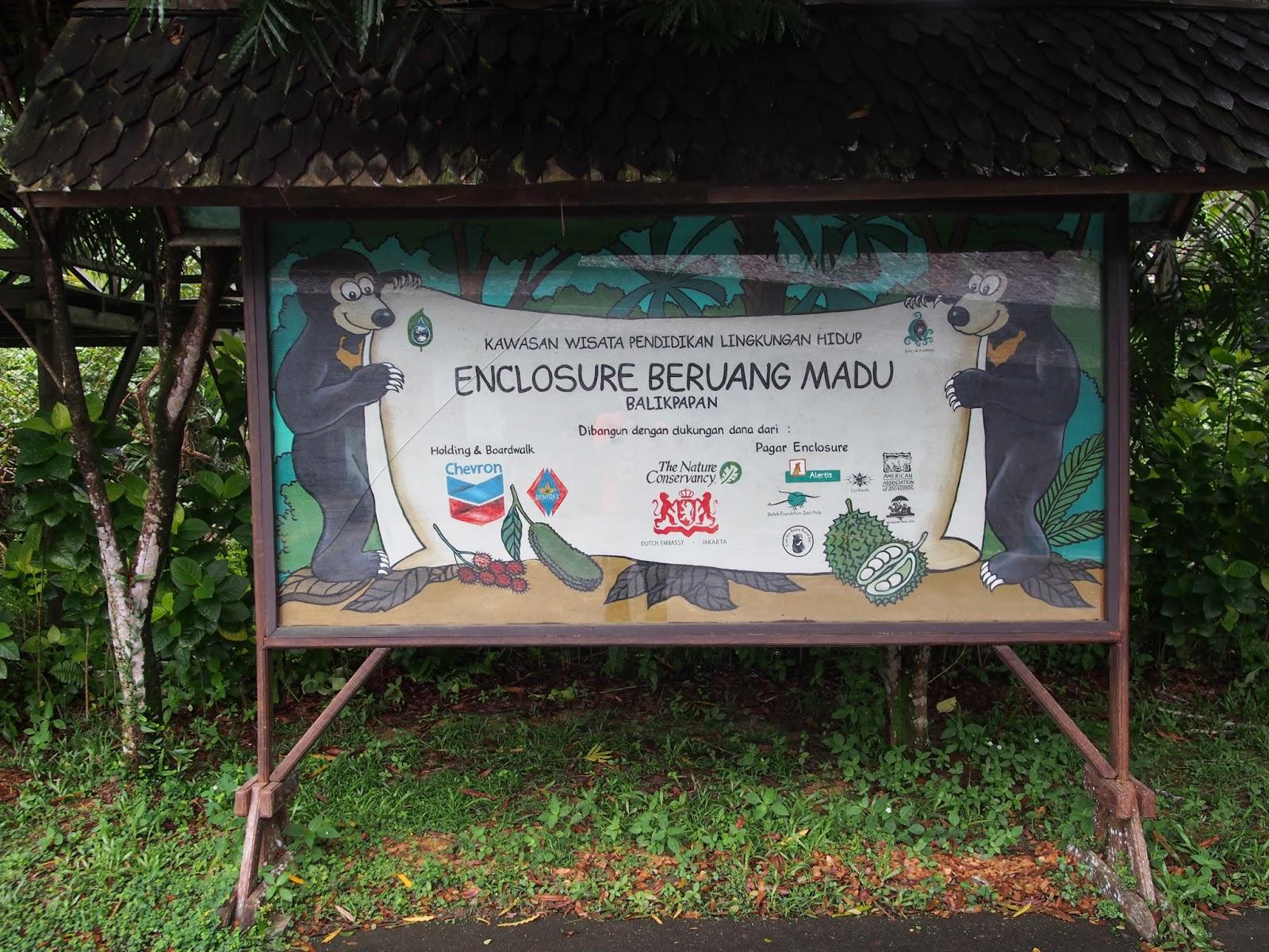 Carl Fakaruddin Wisata Gratis Beruang Madu Di Balikpapan