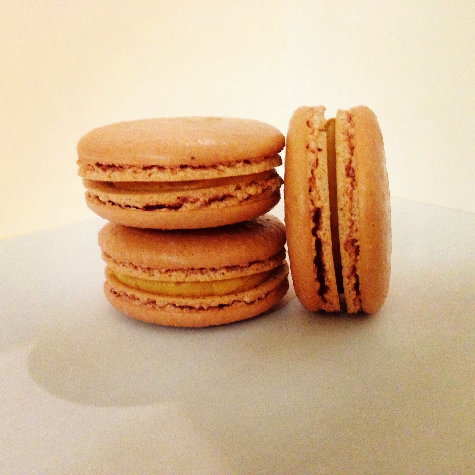Love and Macarons.: Salted Caramel Macarons (French ...